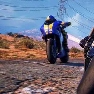 Moto Racer 4 drifting