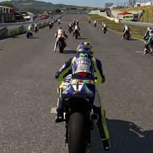 MotoGP 15 PS4 Vue du joueur