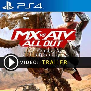 Acheter MX vs ATV All Out PS4 Code Comparateur Prix