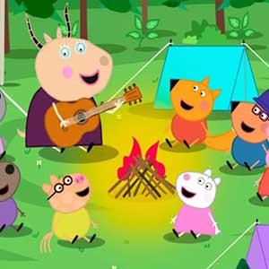 My Friend Peppa Pig Camping