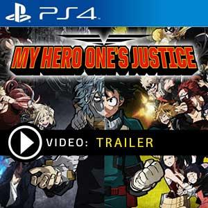 Acheter My Hero Academia Ones Justice Ps4 Code Comparateur Prix