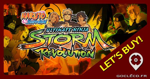 Naruto Shippuden Ultimate ninja storm pas cher