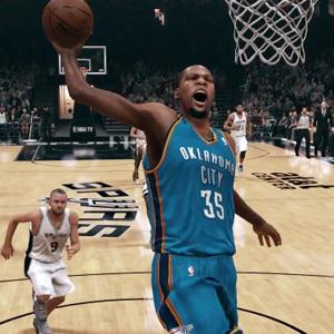 NBA 2k15 Slam Dunk