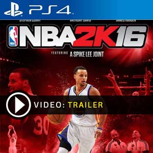 NBA 2K16 PS4 en boîte ou à télécharger
