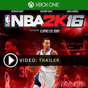 NBA 2K16 Xbox One en boîte ou à télécharger