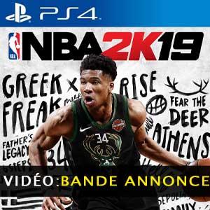 Acheter NBA 2K19 PS4 Comparateur Prix