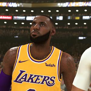 NBA 2K20 - LeBron James et Anthony Davis