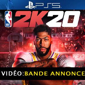 NBA 2K20 PS5 Bande-annonce vidéo