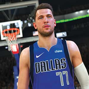 NBA 2K22 Écran De Chargement De La Couverture De L'Édition 75e Anniversaire