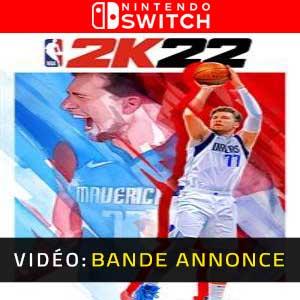 NBA 2K22 Nintendo Switch Bande-annonce Vidéo