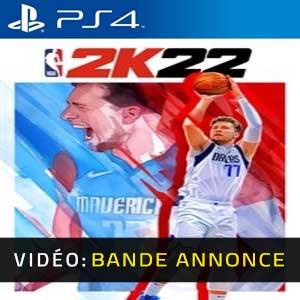 NBA 2K22 PS4 Bande-annonce Vidéo