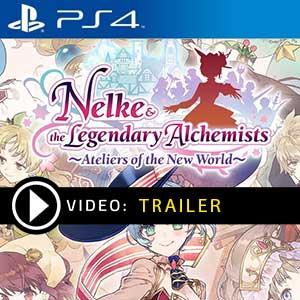 Nelke & The Legendary Alchemists Ateliers of The New World PS4 en boîte ou à télécharger