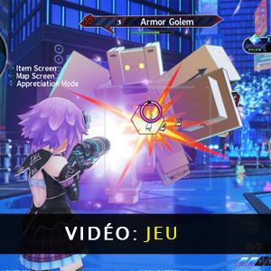 Neptunia Virtual Stars vidéo de gameplay
