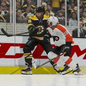 NHL 21 Boston Bruins contre Philadelphia Flyers