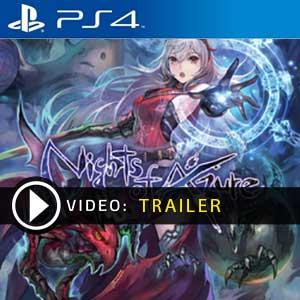 Nights of Azure PS4 en boîte ou à télécharger