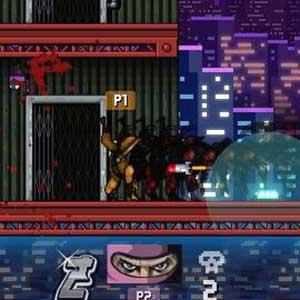 Attaque de groupe ninja