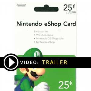 Acheter Nintendo eShop 25 Euro Carte a Points Comparateur Prix
