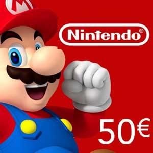 Acheter Nintendo eShop 50 Euro Carte a Points Comparateur Prix