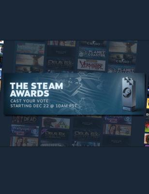 Les votes des Steam Awards 2016 sont ouvert ! Voici les candidats !
