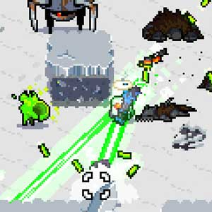 Combat dans Nuclear Throne