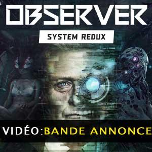 Observer System Redux Bande-annonce vidéo