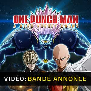 One Punch Man A Hero Nobody Knows Bande-annonce vidéo