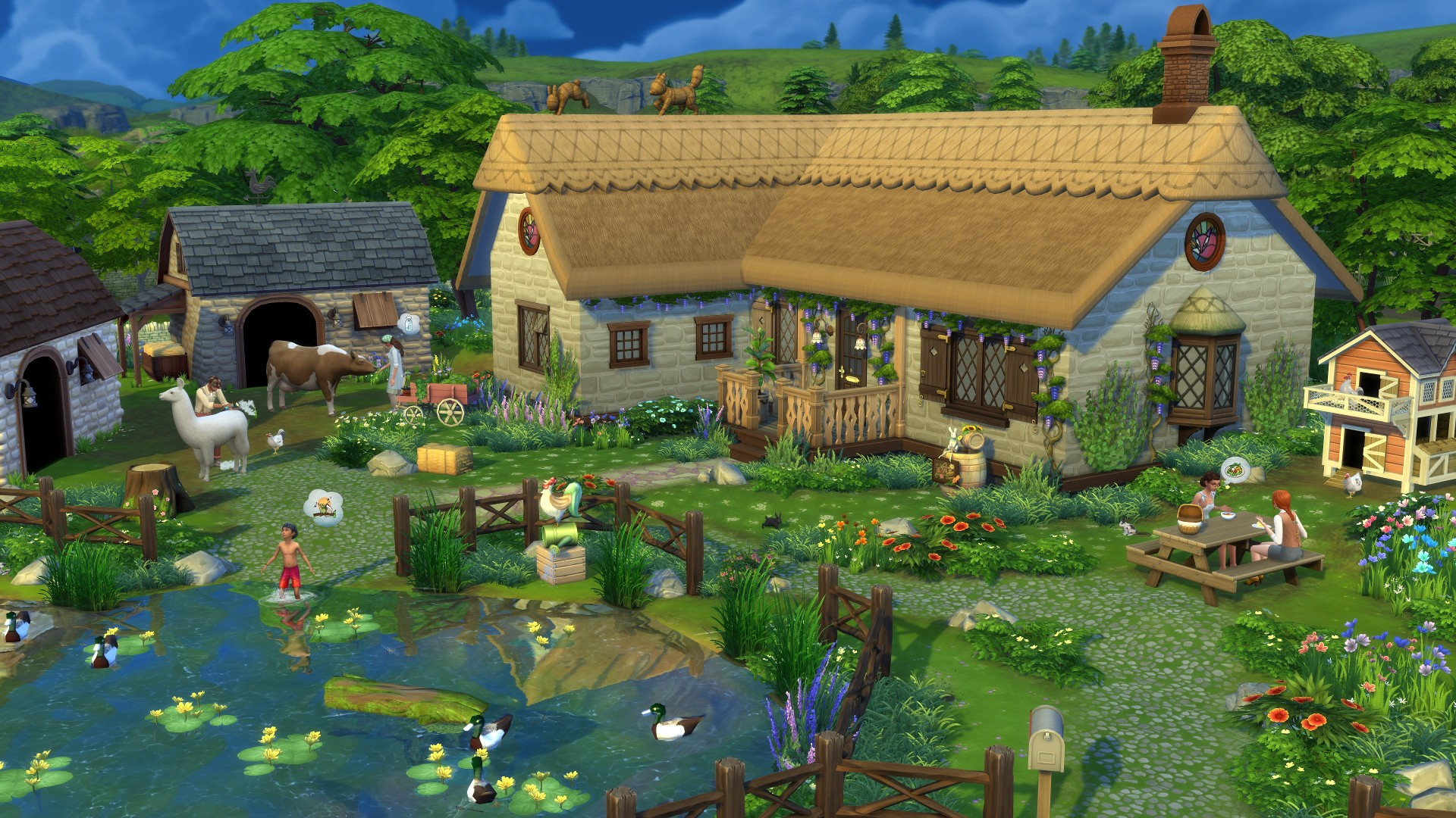 the Sims 4 Cottage Living Cd Key best price