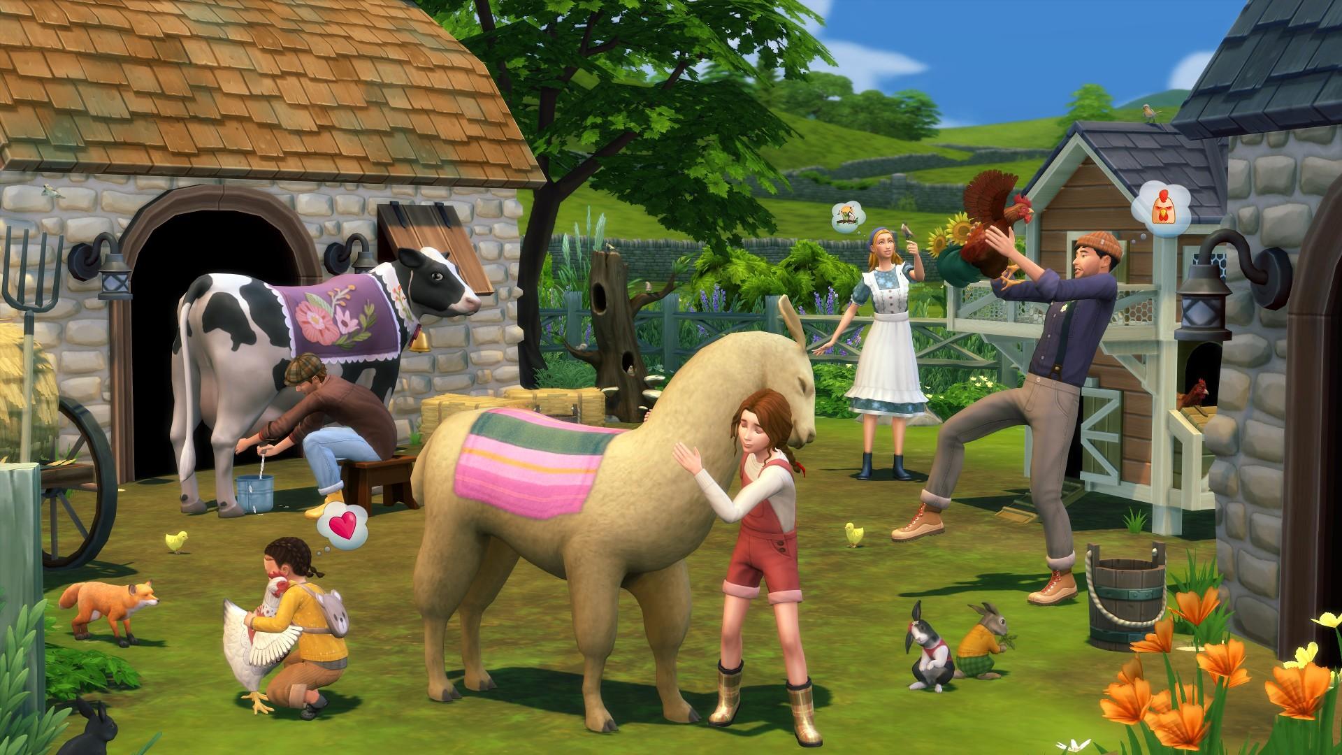 Les Sims 4 : Extension Cottage Living Meilleur prix