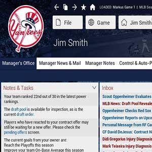 Baseball 17 Manager & GM Actes