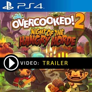 Overcooked 2 Night of the Hangry Horde PS4 en boîte ou à télécharger