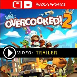 Overcooked 2 Nintendo Switch en boîte ou à télécharger