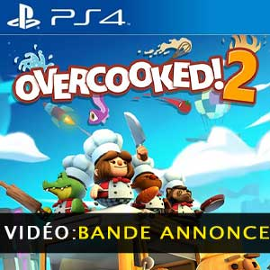 Overcooked 2 PS4 Bande-annonce Vidéo