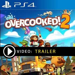 Overcooked 2 PS4 en boîte ou à télécharger