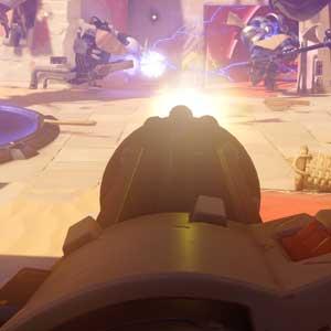 Overwatch PS4 Combat