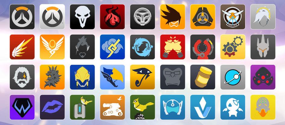 Icônes Overwatch