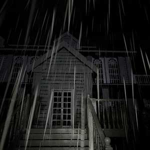 vieille maison hantée
