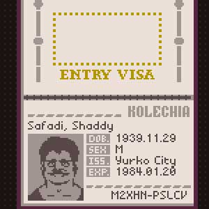 Papers Please Visa