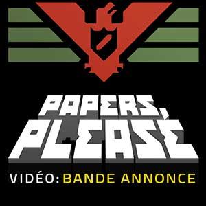 Papers Please Bande-annonce vidéo