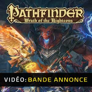 Pathfinder Wrath of the Righteous Bande-annonce Vidéo