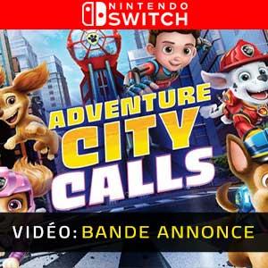 PAW Patrol The Movie Adventure City Calls Nintendo Switch Bande-annonce Vidéo