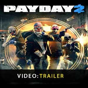 Vidéo de la bande annonce Payday 2