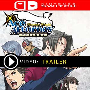 Phoenix Wright Ace Attorney Trilogy Nintendo Switch en boîte ou à télécharger