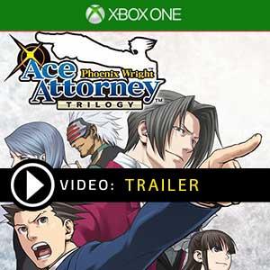 Phoenix Wright Ace Attorney Trilogy Xbox One en boîte ou à télécharger