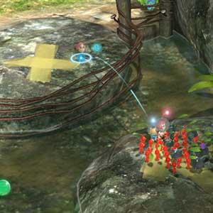 Pikmin 3 Nintendo Wii U lutte