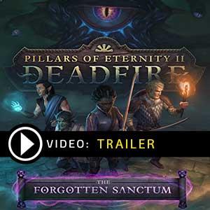 Acheter Pillars of Eternity 2 Deadfire The Forgotten Sanctum Clé CD Comparateur Prix