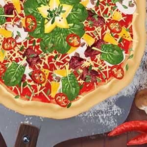 Plus de saveur et de fromage supplémentaire Pizza