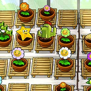 Système de combat de Plants vs zombies