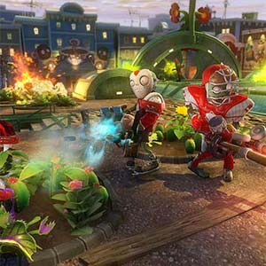 Plants vs Zombies Garden Warfare PS4 Gameplay