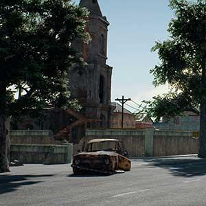 PlayerUnknowns Battlegrounds Carte de Miramar