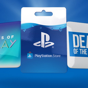 Playstation Gift Card Deal of the Week